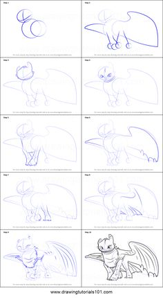 Toothless Inspired Dragon, How To Train Your Dragon