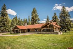 1947 Ranch For Sale In Pagosa Springs Colorado — Captivating Houses Pagosa Springs Colorado, Ranches For Sale, Ranch Style Homes, Vintage Home Decor, Vintage Homes, Back Doors, The Ranch, Outdoor Entertaining, Rustic Chic