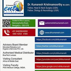 The all new #visitingcard with #affliations and #socialmedia links. #advisory #boardmember #visitingfaculty #bluetechlenses
