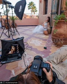 One light on location Thank you for sharing this awesome BTS with us @musechanphoto!! -----------