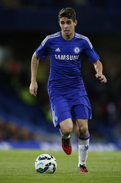 Oscar - Chelsea v Real Sociedad, 12th August 2014