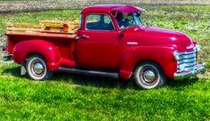 1949 Chevrolet 5 Window Pickup Truck Pickup Trucks, Muscle Cars, Chevrolet, Window, Outdoors, Vehicles, Travel, Viajes, Windows