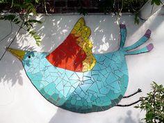 Inspiring mosaic! paradis express: Sandrine la sardine