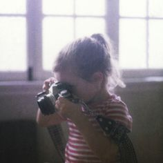 by ashley oostdyck    I like to imagine my future kids taking photos. Forcefully, if necessary. They'll thank me later, right?