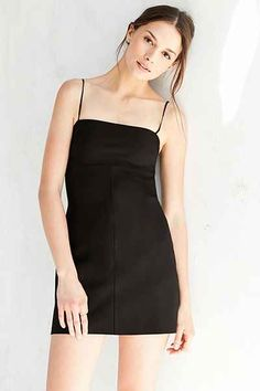 Silence + Noise Audrey Ponte A-Line Mini Dress - Urban Outfitters