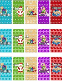 candy wrapper templates images   Free Printable Christmas Candy Bar ...
