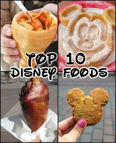 Top 10 Disney Foods. I agree with about 6 of these.