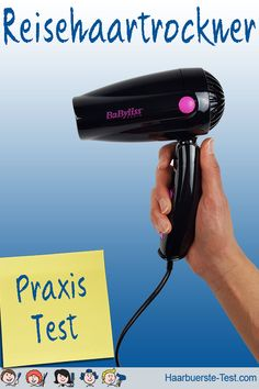 Babyliss Reisehaartrockner im Praxis Test . Praxis Test, Ac Dc, Personal Care, Dryer, Diffuser, Viajes, Personal Hygiene