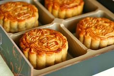 Mooncake Recipe (Food & Culture: China)