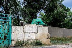 Russian abandoned air force base near Kamyshed