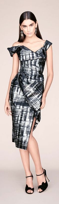 Make this in African ankara print. Vivienne Westwood Pre-Fall 2014-2015 Collection