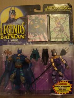 $29.99 Egyptian Batman and Catwoman 2pack-Free Shipping-