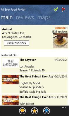 """All-Star Food Finder"" - Popular new food Windows Phone App on Mopapp Rankings (http://www.mopapp.com/apps/windowsphone/e4c85150-b9e6-467a-9485-72c79e05bc77--All-Star-Food-Finder)"