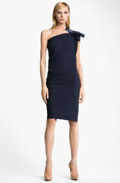 Short One Shoulder Draped Dress