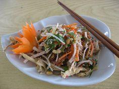Vietnamese Banana Blossom Salad Recipe (Nom Hoa Chuoi)