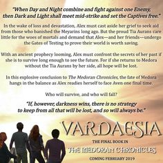 Vardaesia Blurb!!!!!! So excited! Can't wait for Lynette's book reveal!