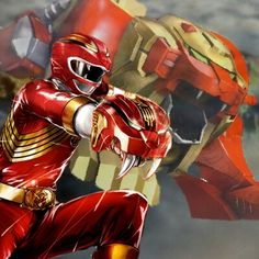 Gao red Power Rangers, Gao, Disney, Iron Man, Geek Stuff, Superhero, Awesome, Fictional Characters, Geek Things