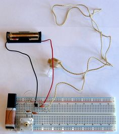 Online science book that contains chapters on electromagnetism, light and optics, electrochemistry, and computers. This chapter gives project ideas for solderless breadboards.