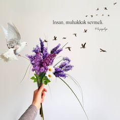 Görüntünün olası içeriği: çiçek ve yazı Hessa, Powerful Words, Islam, Mandala, Mood, Quotes, Flowers, Instagram, Canoe