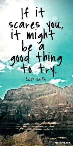 Push your way out of your comfort zone! http://sethgodin.com/sg/