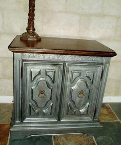 Metallic Furniture {DIY Tutorial}   Metallic Furniture, Metallic And Spray  Painting