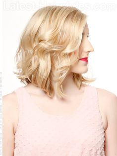20 Cute and Easy Medium Hairstyles for Spring 2013