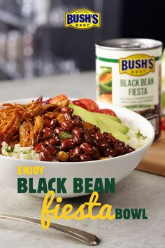 Elevate tonight's meal with BUSH'S Savory Beans. Bean Recipes, Diet Recipes, Vegetarian Recipes, Chicken Recipes, Cooking Recipes, Healthy Recipes, Uk Recipes, Recipe Chicken, Healthy Tips
