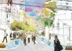 Fase 1 - Intervenções de caráter temporário, transformando o espaço público em lúdico