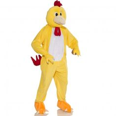 Adult Chicken Mascot Costume