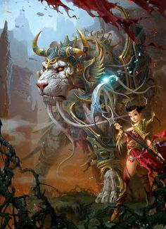 fantasy art: