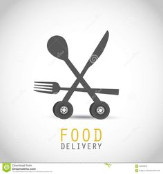Food Delivery Design - Download From Over 58 Million High Quality Stock Photos, Images, Vectors. Sign up for FREE today. Image: 48202876