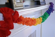 Rainbow garland? LOVE! and that Pot of Gold!