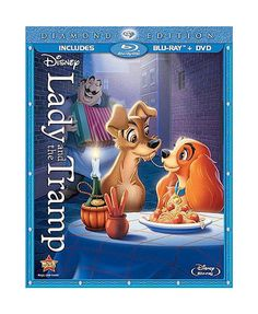 Lady and the Tramp Blu-ray Diamond Edition Blu-ray + DVD * Mint* in DVDs & Movies, DVDs & Blu-ray Discs | eBay