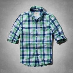 Mens Marble Mountain Shirt | Mens Shirts | Abercrombie.com