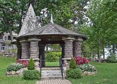 the heart island gazebo at boldt castle is a favorite wedding site and dozens of weddings