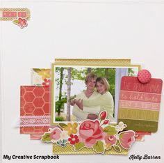 This layout I created for My Creative Scrapbook kit club.