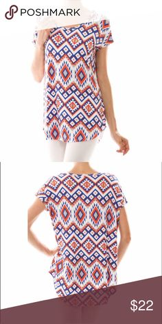 """Brand New! Fantastic Fawn Tunic Brand new! Brightly colored Tunic Top. Soft stretchy fabric. Size large will fit about 38"""" bust 💗 95% polyester 5% spandex 💕 Smoke free/pet free fantastic fawn Tops"""