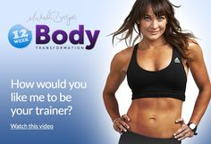 Michelle Bridges and the 12 Week Body Transformation - Yes please!