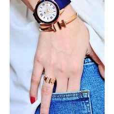 Tommy Hilfiger watch, bracelet and ring