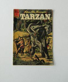 Tarzan Comic Book  Dell Vol 1 No 130 Edgar Rice by DustyDiggerLise