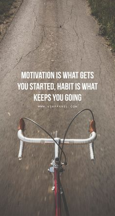 Quotes for Motivation and Inspiration   QUOTATION – Image :    As the quote says – Description  Motivation is what gets you started,habit is what keeps you going. Head over to www.V3Apparel.com/MadeToMotivate to download this wallpaper and many more for motivation on the go! /... - #InspirationalQuotes