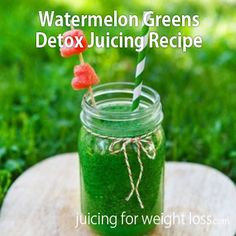 Here is a delicious way to slip some #greens into your daily #juicing routine...