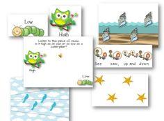 SONGS AND ACTIVITIES TO TEACH HIGH AND LOW - TeachersPayTeachers.com