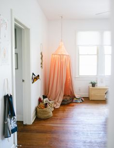 on creating spaces for kids   the girls' room tour