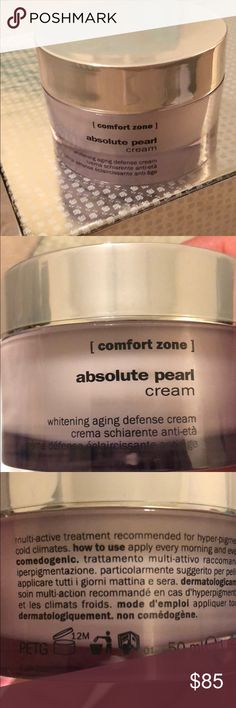 Confort zone absolute pearl cream Confort zone absolute pearl cream Whitening aging defense cream 50ml/1.69 fl oz  New without box Other