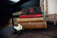 Awesome - Vintage books is definitely a cute decorating idea. | CHECK OUT MORE IDEAS AT WEDDINGPINS.NET | #weddings #travel #travelthemes #weddingplanning #coolideas #events #forweddings #weddingplaces #romance #beauty #planners #weddingdestinations #travelthemedweddings #romanticplaces #eventplanners #weddingdress #weddingcake #brides #grooms #weddinginvitations