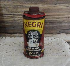 Negri French Black Americana Shoe Polish Unopened by misslillydawg, $35.00