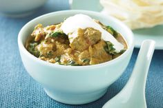 A curry is a simple way to liven up the week. This one's hearty and full of healthy silver beet.