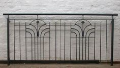 art deco railings for sale antique art deco wrought With französischer balkon mit vintage sonnenschirm
