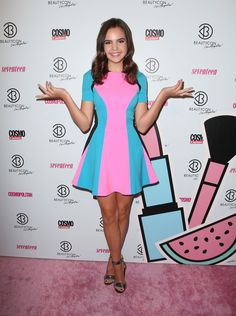 Bailee Madison | BeautyCon LA Festival (2015) Tags: The Fosters, Fashion, Once Upon a Time, Sophia Quinn, Pink, Just Go With It, Brothers
